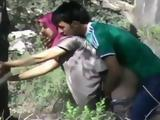 Busted Syrian Refugees Having Sex In The Forest