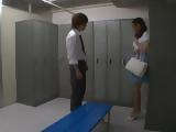 Japanese Substitute Teacher Alice Miyuki Gets Cornered By Her Student IN A Locker Room
