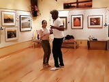 Spanish Teacher Dancing In Tight Jeans